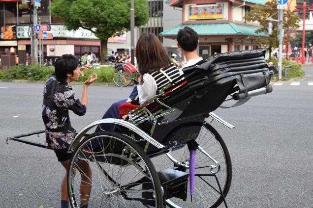 Rickshaw Asakusa