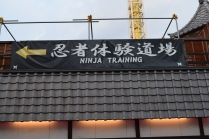This place has everything! Even ninja training!
