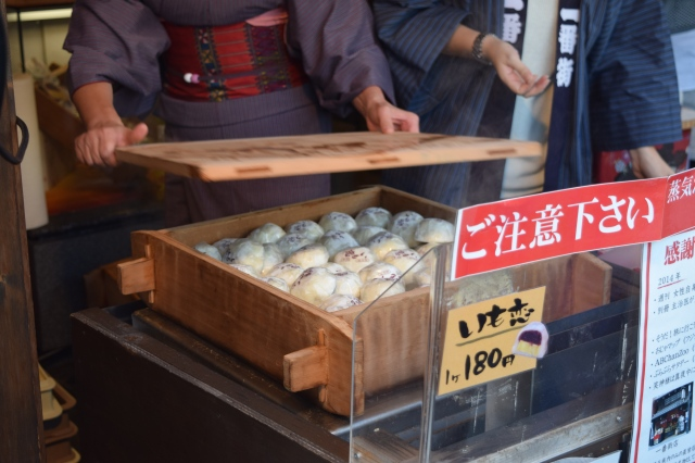 Kawagoe is also famous for its sweet potatoes that are made into a variety of treats
