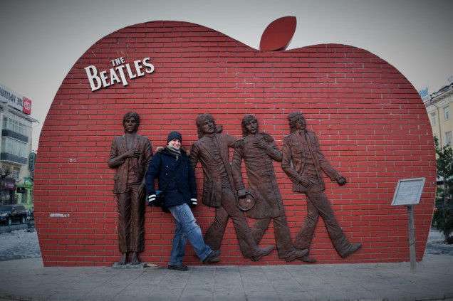 A monument built to the global phenomenon: The Beatles