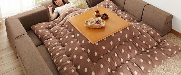 The infamous Japanese kotatsu - the best invention ever