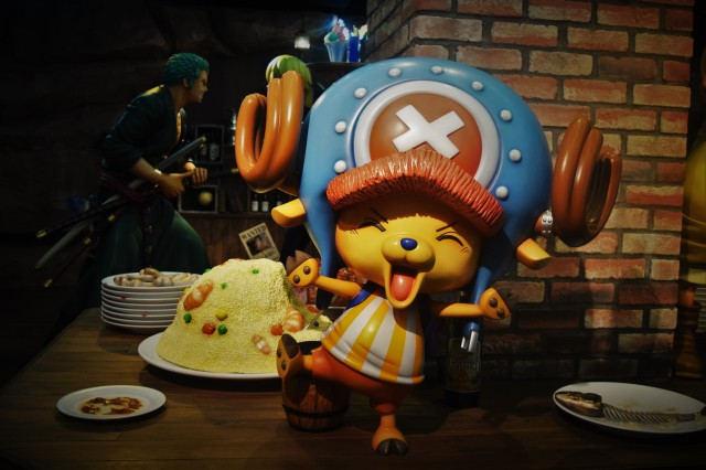 Tony Chopper dancing