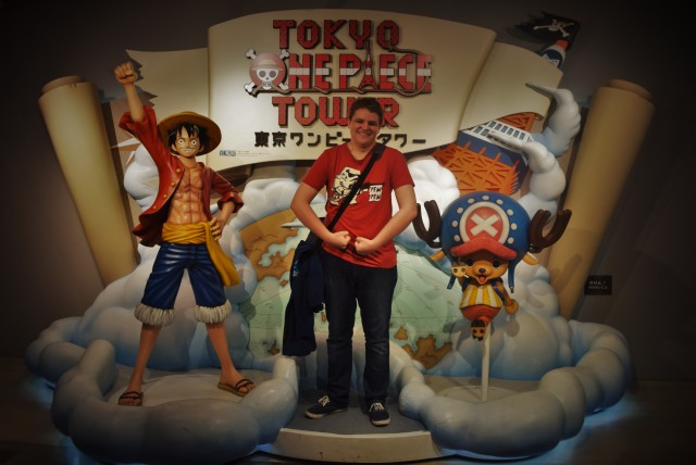 Tokyo One Piece Tower Entrance - Chopper Luffy