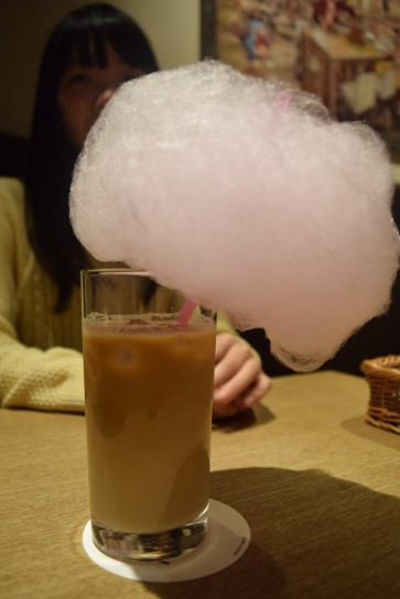Tony Chopper's Candy Floss Latte