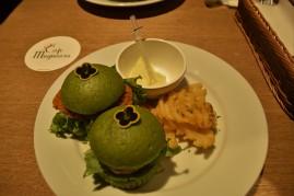 Cafe Mugiwara Zoro Burger